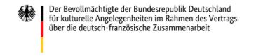 Logo Bevollmächtigter Deutsch-Französische Zusammenarbeit
