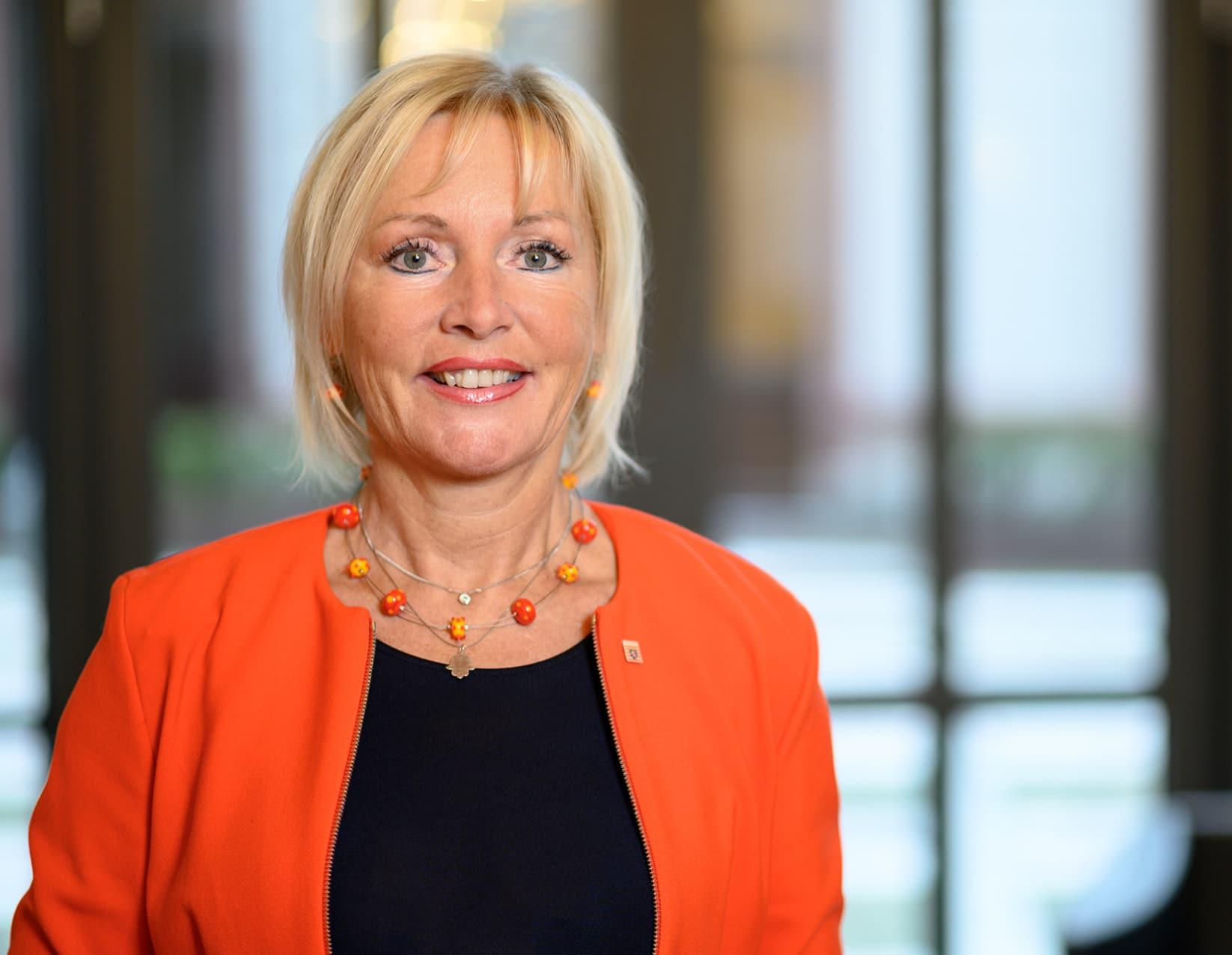 Prof. Dr. Kristina Sinemus, Hessische Ministerin fŸür Digitale Strategie und Entwicklung. Copyright Staatskanzlei / Salome Roessler
