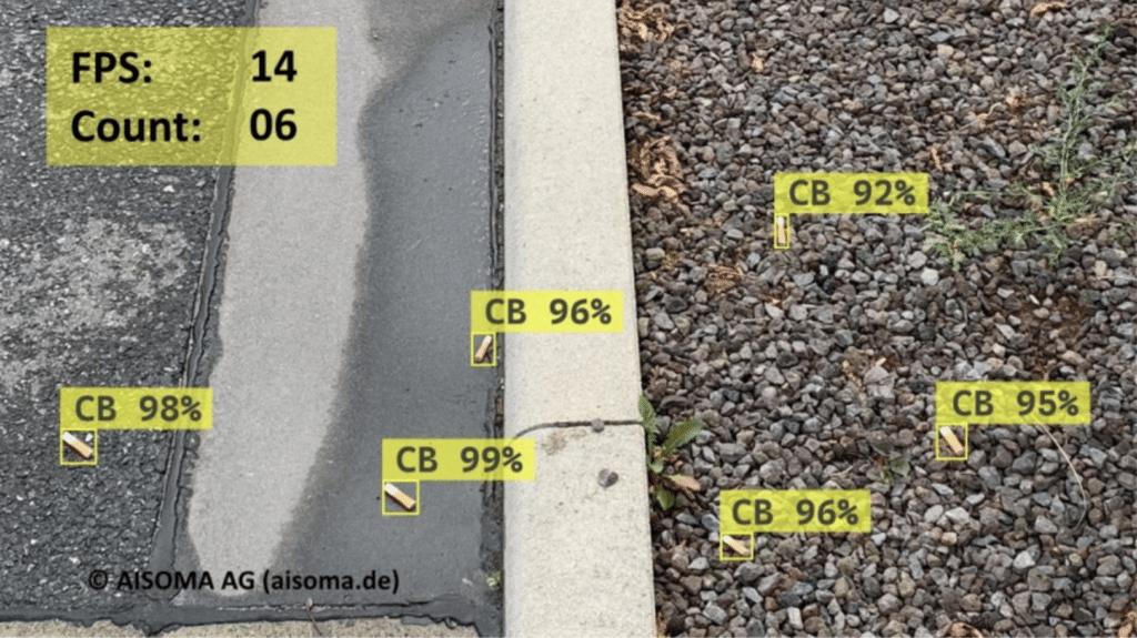 AISOMA - Abfallerkennung mit KI – künstlicher Intelligenz